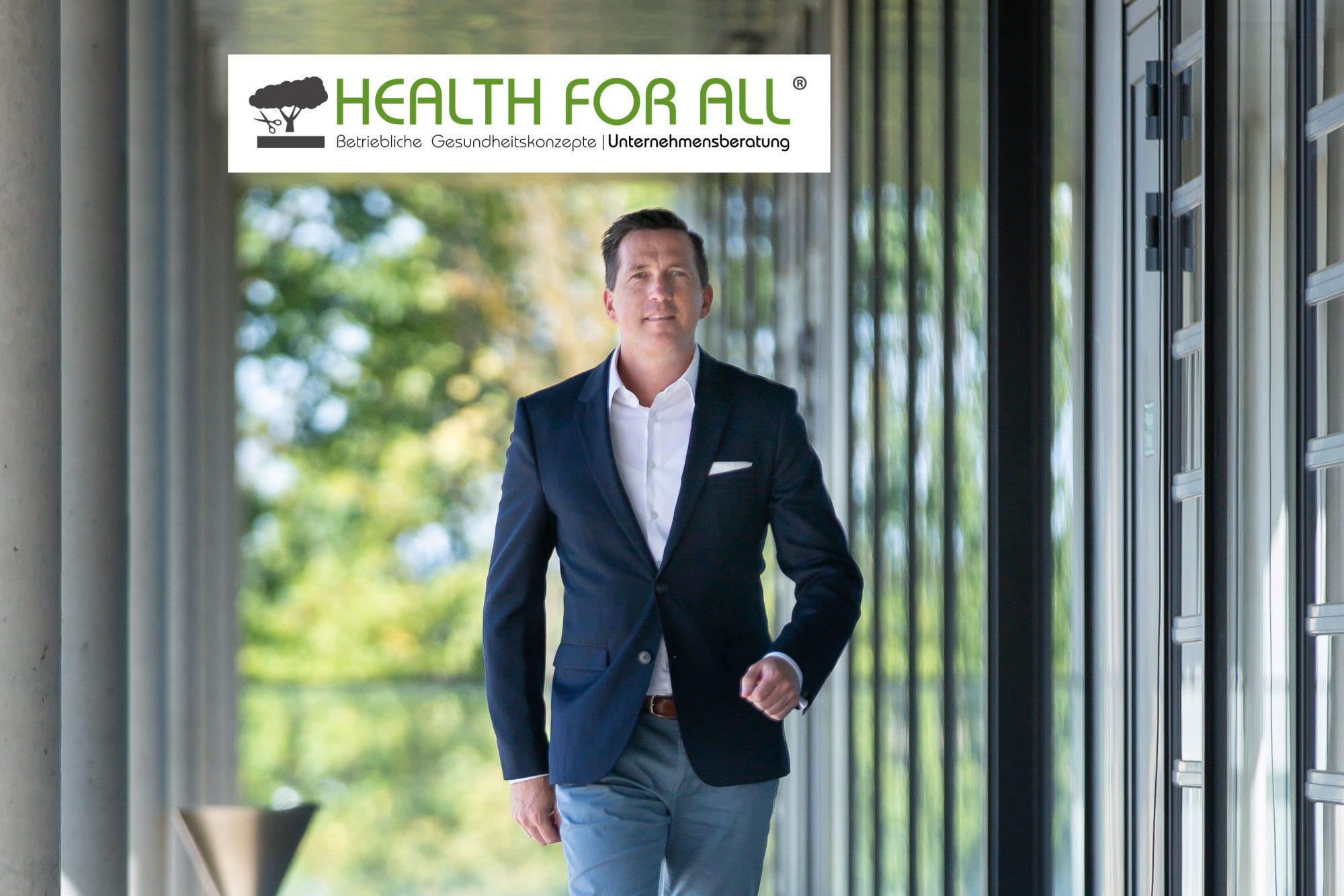 Unternehmer Marco Scherbaum HEALTH FOR ALL